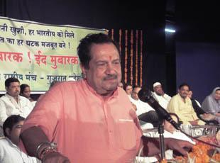 Drive out evil forces to make India strong, appeals Indresh Kumar