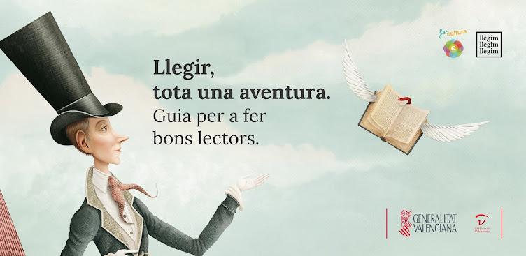 Llegir tota una aventura.