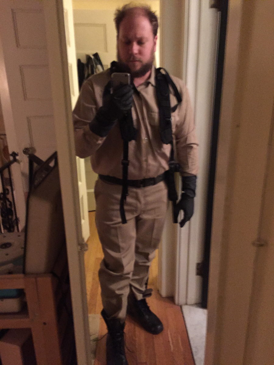 ooteenee ghostbuster and or janitor test fitting