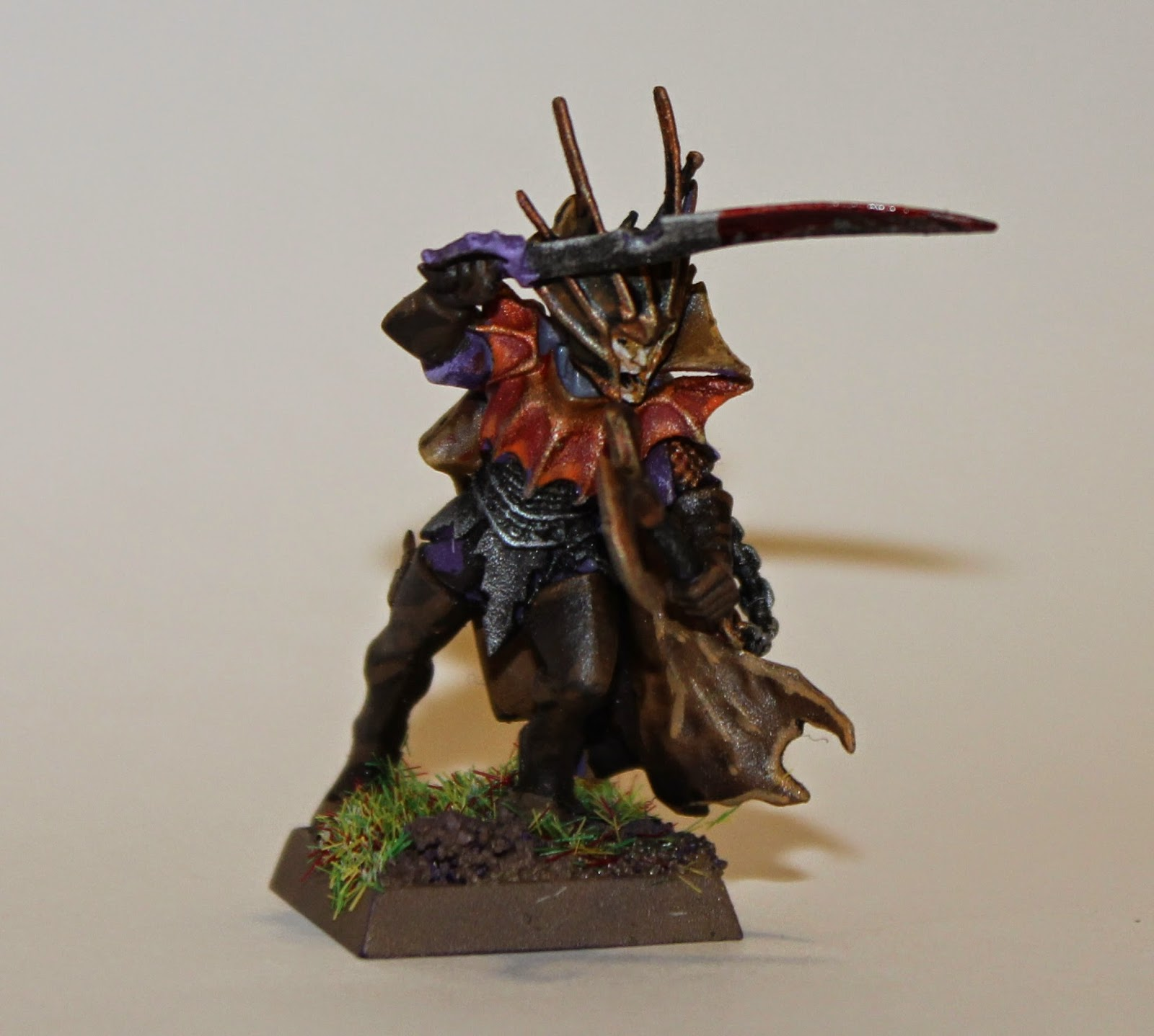 Dark Elf Pirate Captain