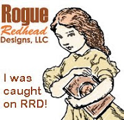 Caught on Rogue Redhead Designs