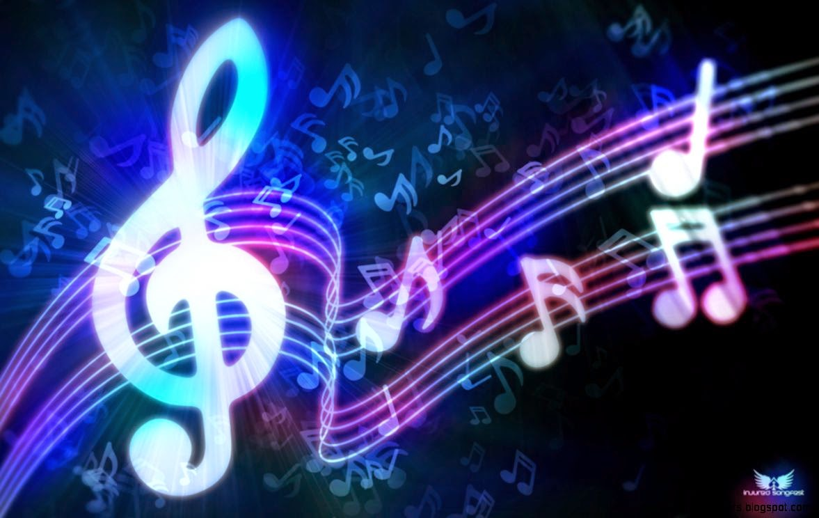 Cool Music Note Wallpaper