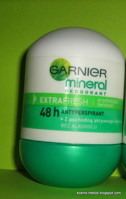 Garnier, Mineral Deodorant Extra Fresh - Dezodorant mineralny w kulce - Recenzja