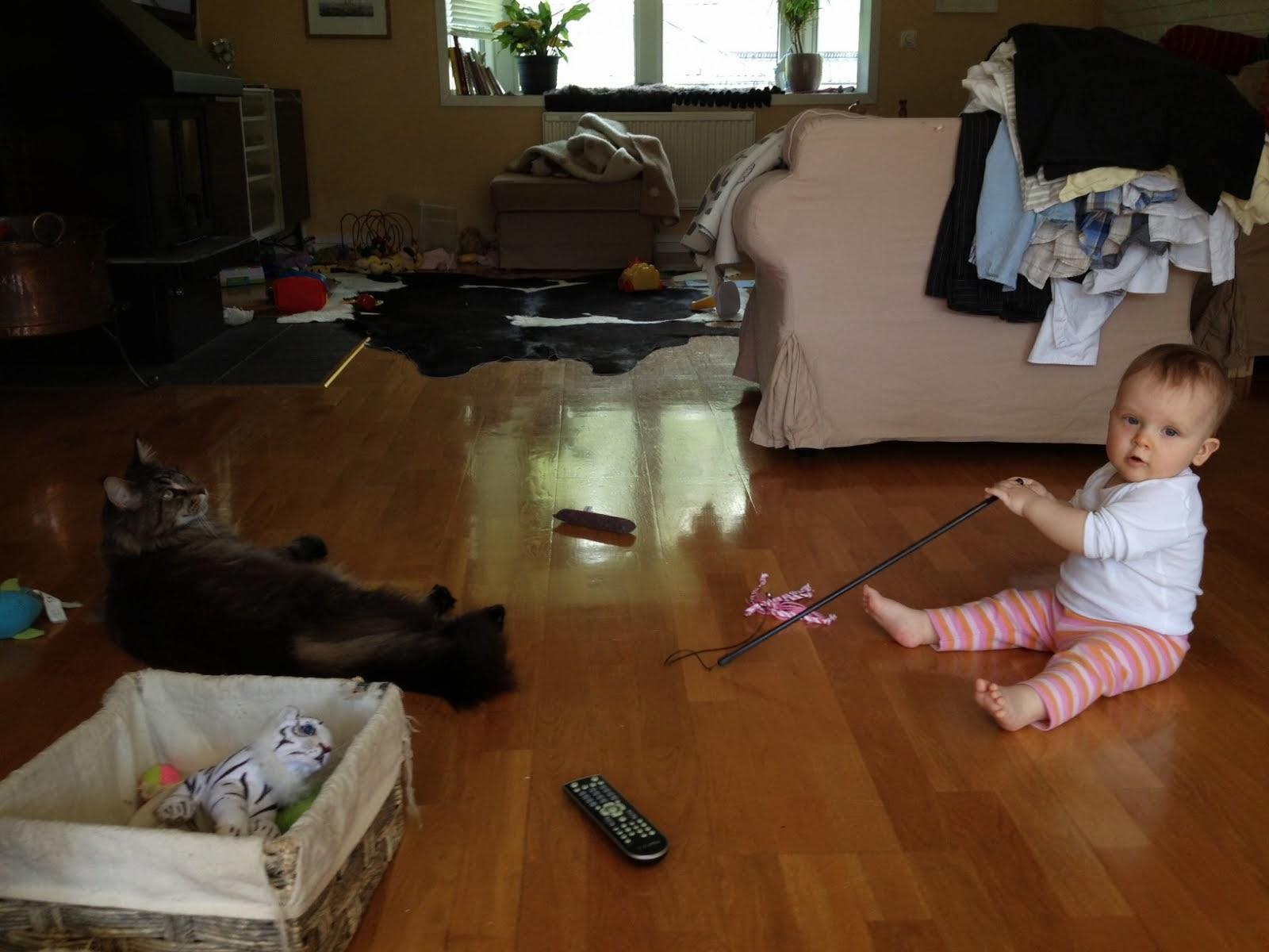 Prinsen leker med Liten