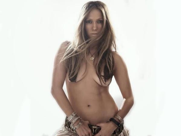 Jennifer López sin photoshop