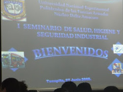I seminario de Salud, Higiene y Seguridad Industrial