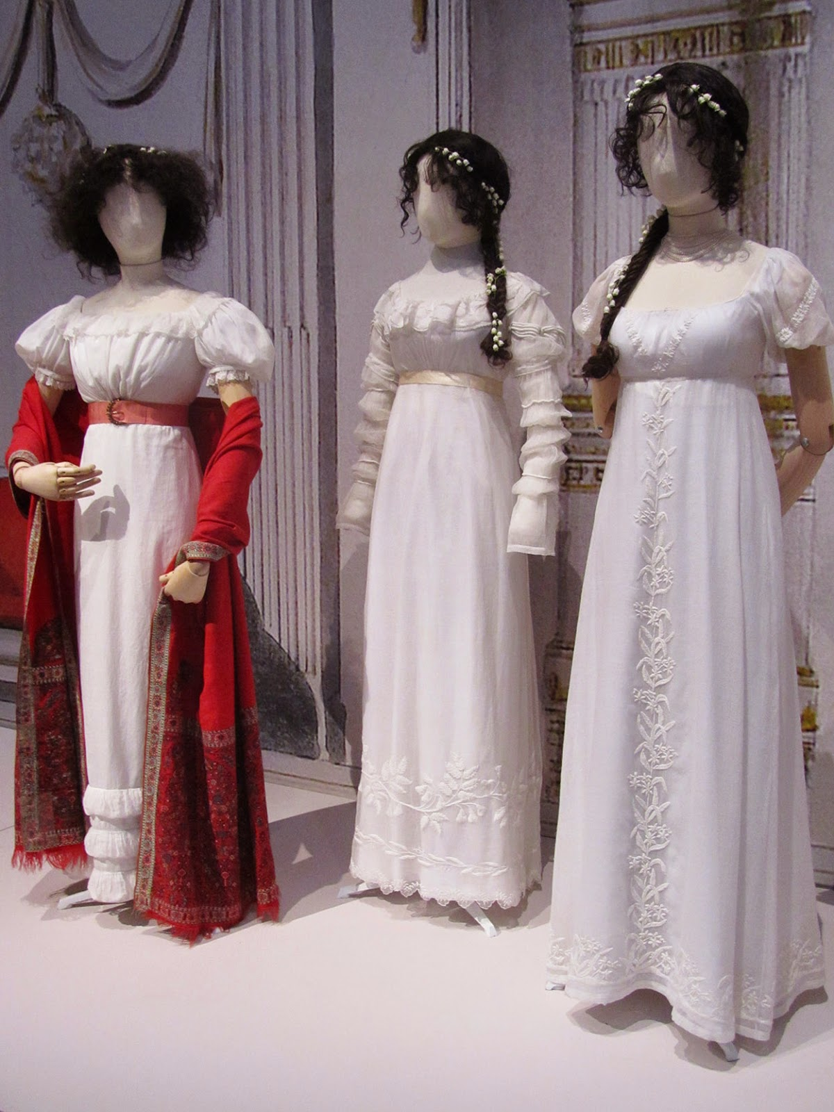 cotton dresses, 1805-20