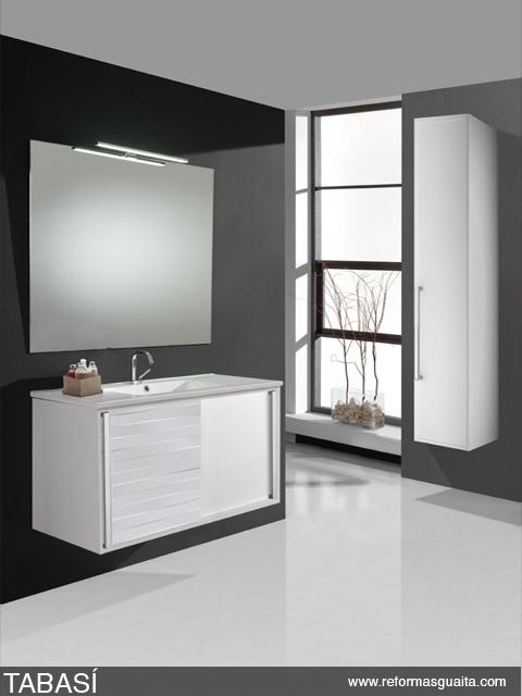 mueble baño puertas corredizas