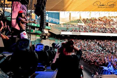 fotos de YMCMB en australia