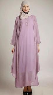 Baju gamis hamiol muslim modern nan modis