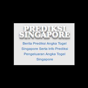 Berita Prediksi Angka Togel Singapore  Serta Info Prediksi  Pengeluaran Angka Togel Singapore