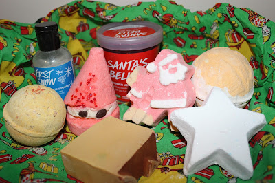 Lush Christmas 2015 Collection