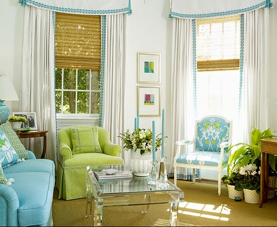 A Lively Preppy Eclectic Living Room Featuring Colorful Collectibles Books Trendy Pillows And Traditional Elements