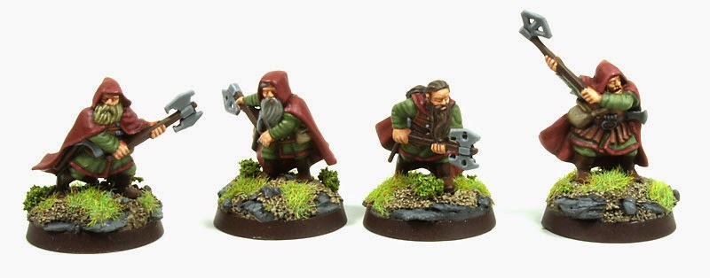 Lord of The Rings Strategy Battle Game - Dwarf Rangers