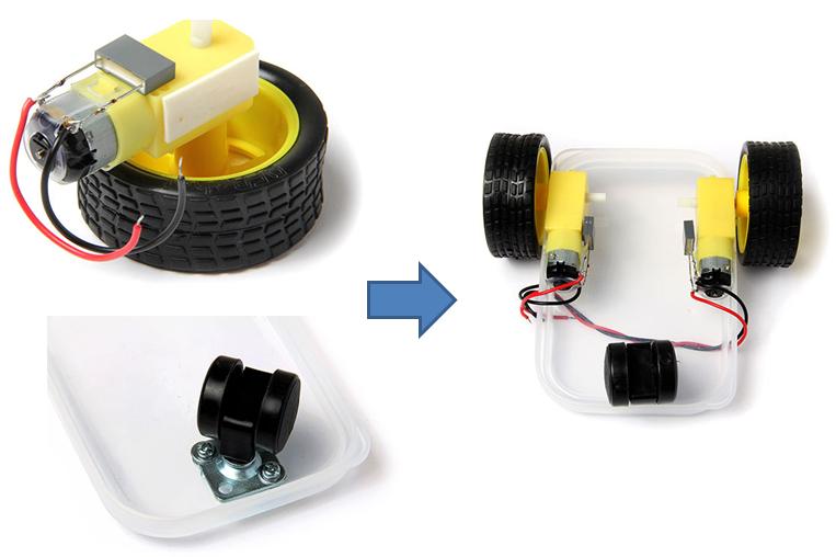 Membuat rangkaian robot microbot dengan arduino uno