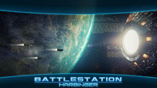 Screenshots of the Battlestation: Harbinger for Android tablet, phone.