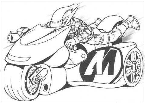 Desenhos para colorir, motos | Ultra desenhos gratis