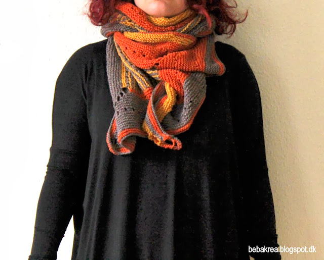 Color Craving Westknits Sjal strik vendestrik