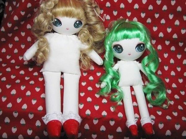 Как сделать красивых кукол