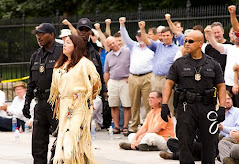 Heroes arrested at White House Tar Sands Protest