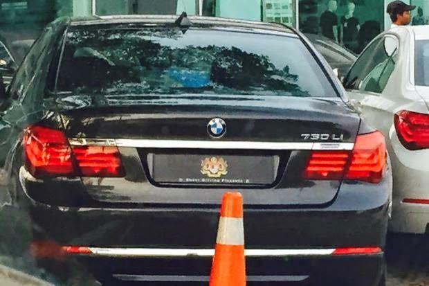 Kereta Guna Jata Negara Tidak Dibeli Kerajaan BMW