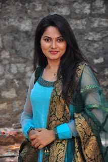 Suhasini Latest Pictures in Salwar Kameez at Rough Logo Launch  0003.jpg