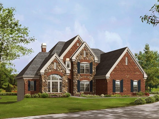 Fachadas de piedra fachadas de casas de piedra y ladrillo - Stone house designs and floor plans ...