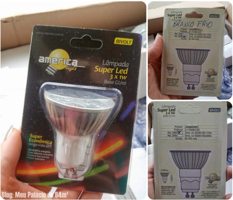 lâmpada LED barato