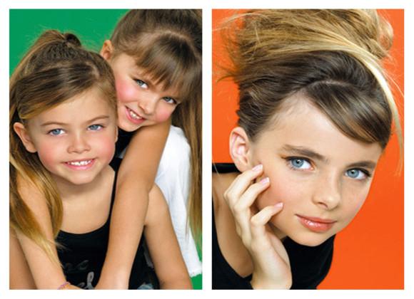 peinados infantiles chicos look 2013