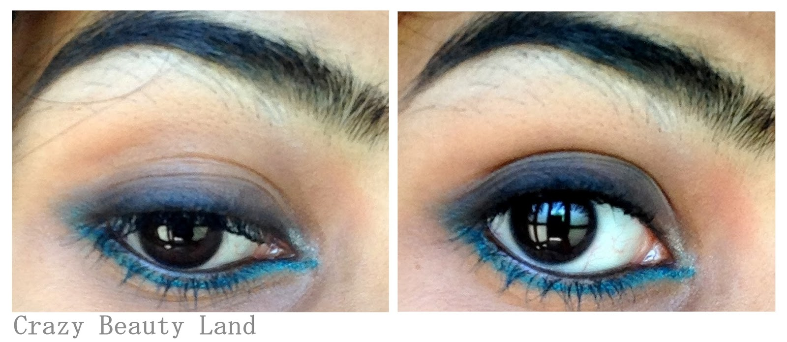 Maybelline Colossal Kohl Turquoise -EOTD, Review, Swatches, Price in India
