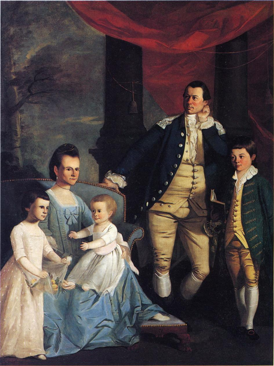National art gallery paintings of 18th century american families 1772 william williams american colonial era artist 1727 1791 the william denning family sciox Images