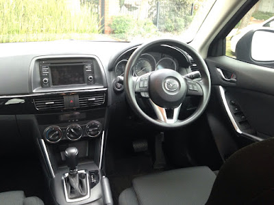 Nice simple interior in the Mazda CX-5