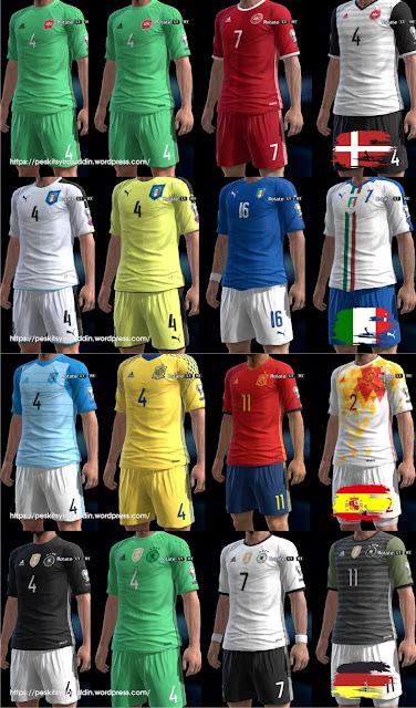 PES 2013 EURO 2016 Kitpack v1 by Syirojuddin