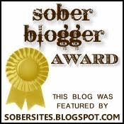 Sober Blogger Award