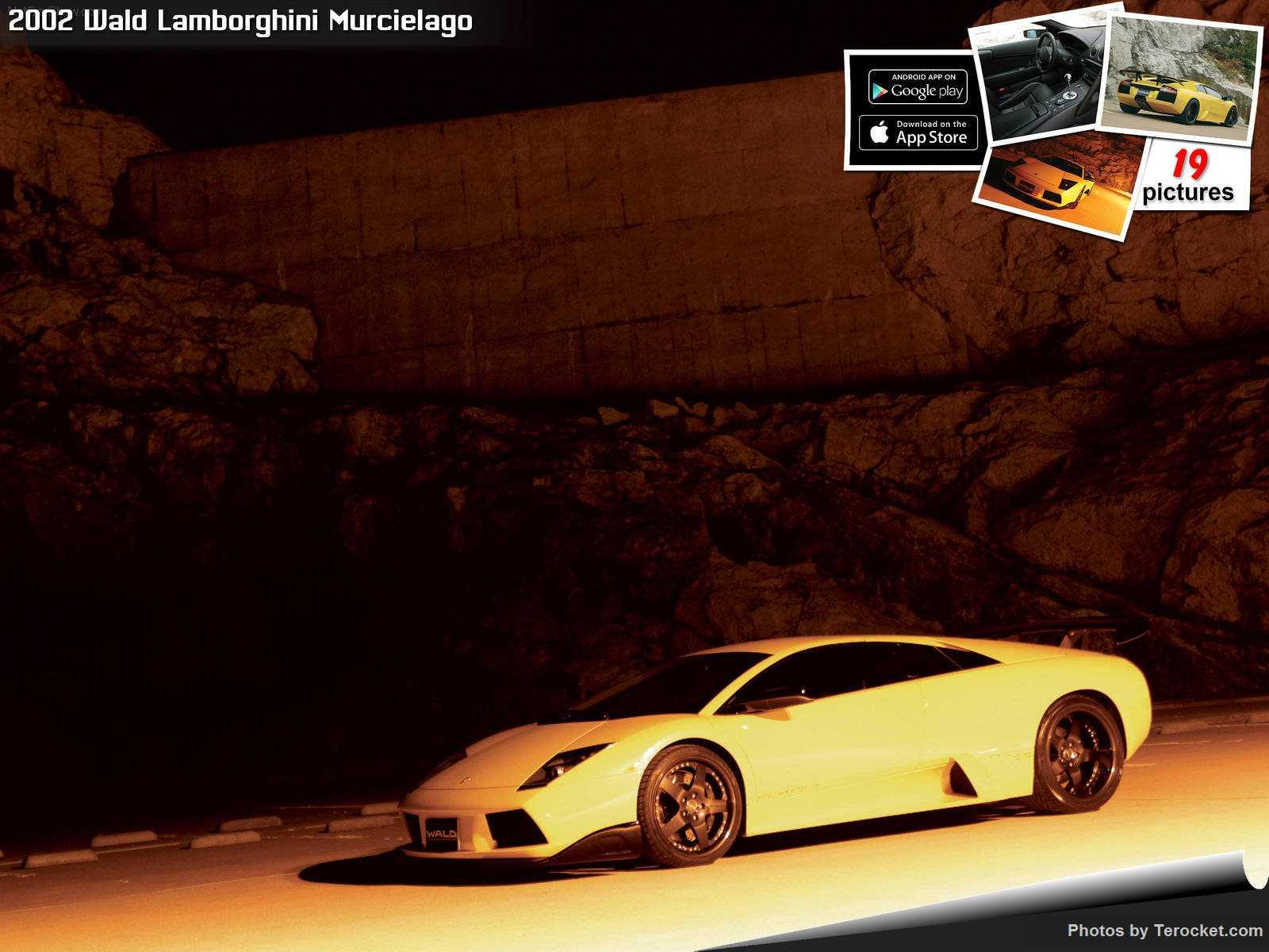 Hình ảnh xe độ Wald Lamborghini Murcielago 2002 & nội ngoại thất