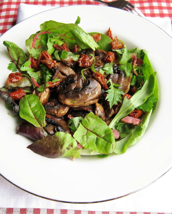 Mushroom Salad Recipe | Nomsies Kitchen
