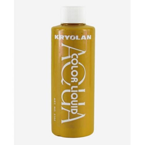 Gold Liquid Dye : Clown supplies makeup face painting