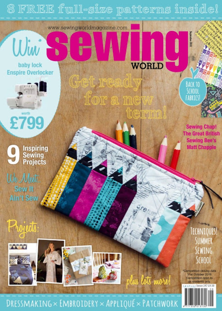 Sewing World September 2016
