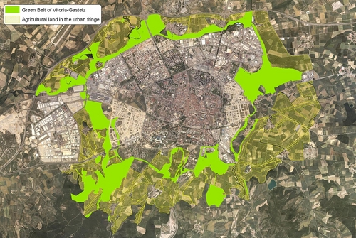 Jardinitis el anillo verde de vitoria gateiz - Anillo verde ciclista madrid mapa ...