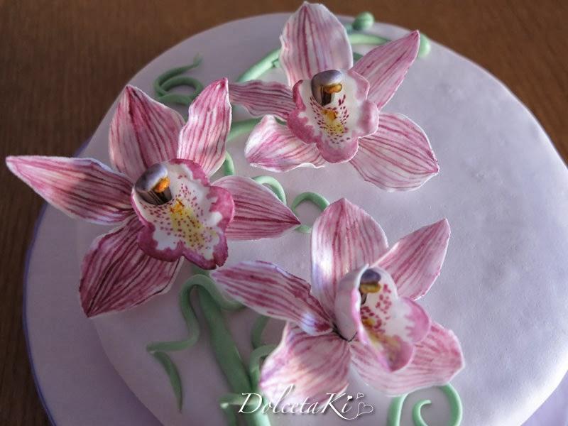 torta orchidee