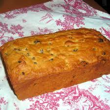 Raisin Loaf Cake