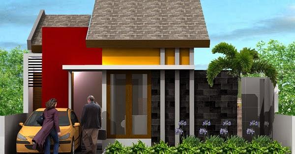 desain rumah type 45 konsep smarthouse 2014 model desain