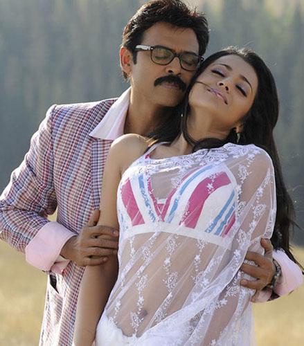 Heroine trisha krishnan Venkatesh Bodyguard telugu movie stills pics
