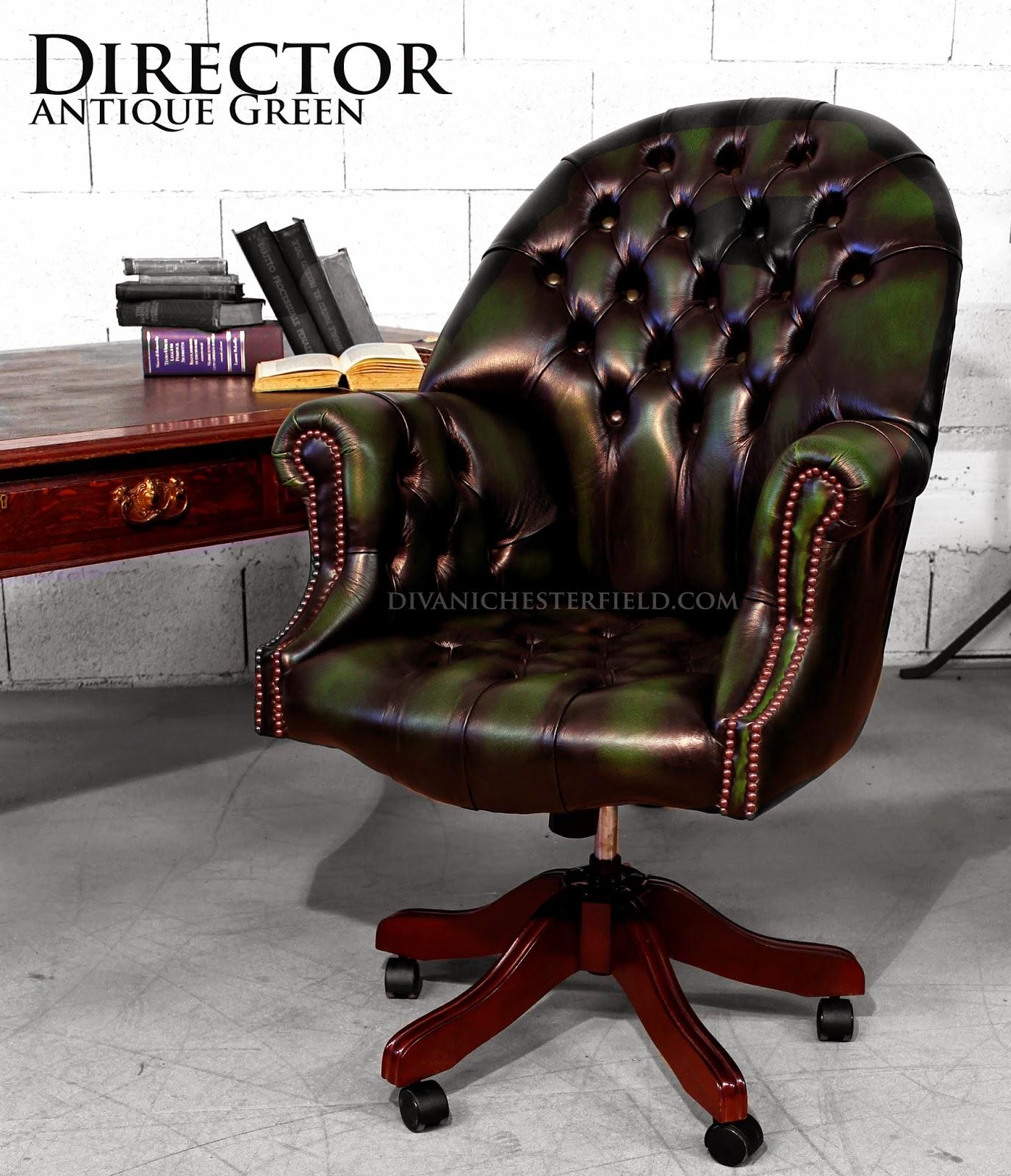 Divani chesterfield vintage usati e nuovi poltrone e - Sedie per ufficio usate ...