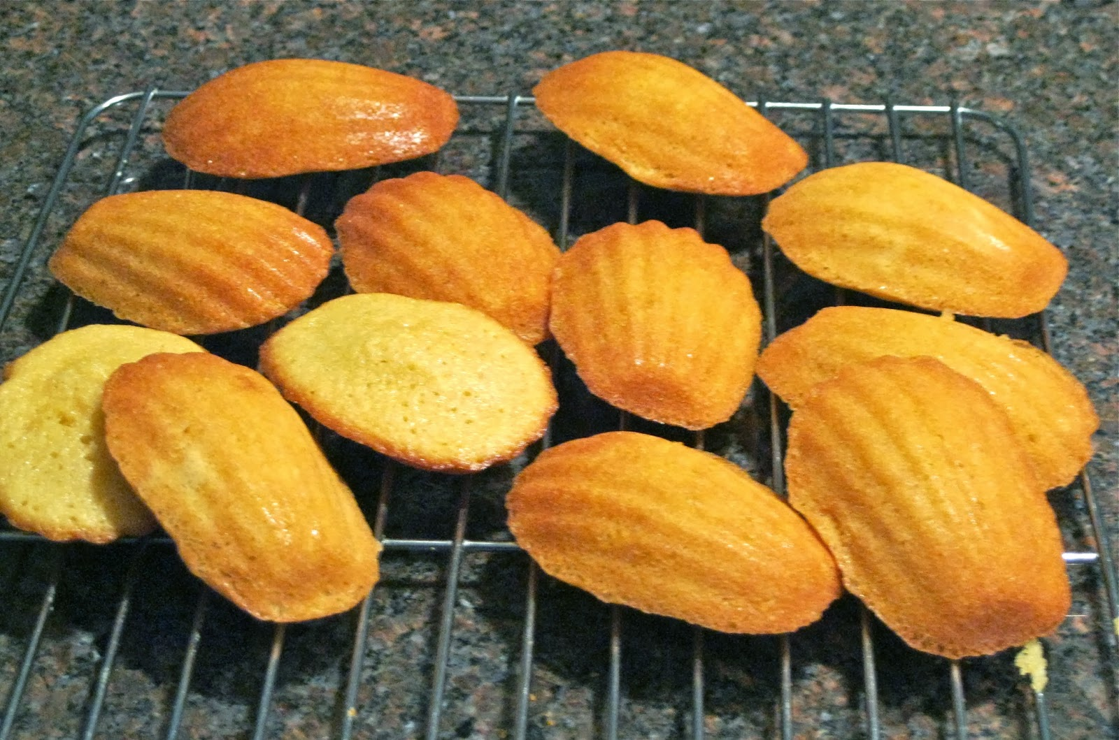 Bakeaway with Me: Earl Gray Tea with Honey Madeleines ...