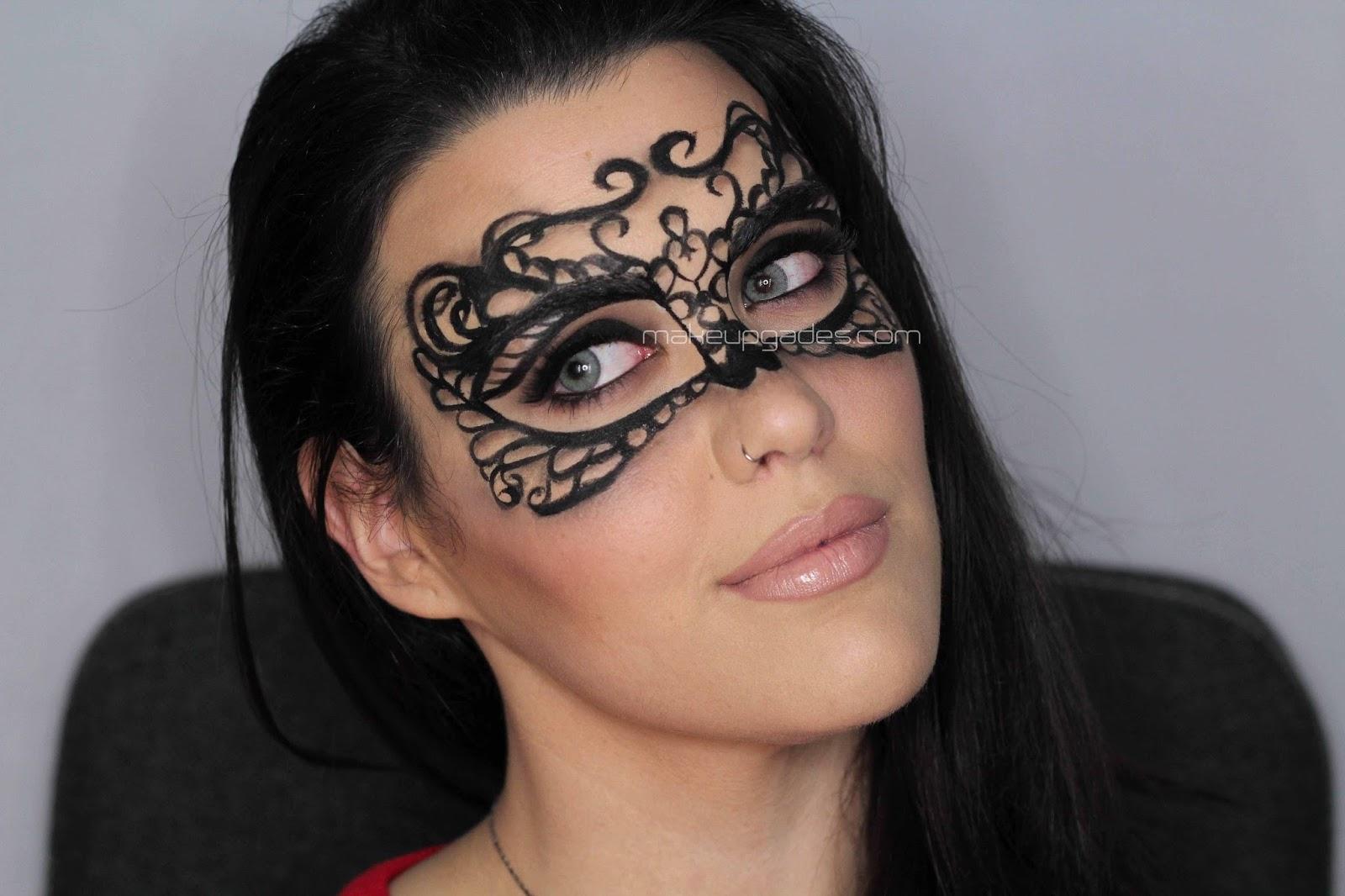 maquillaje de mascara