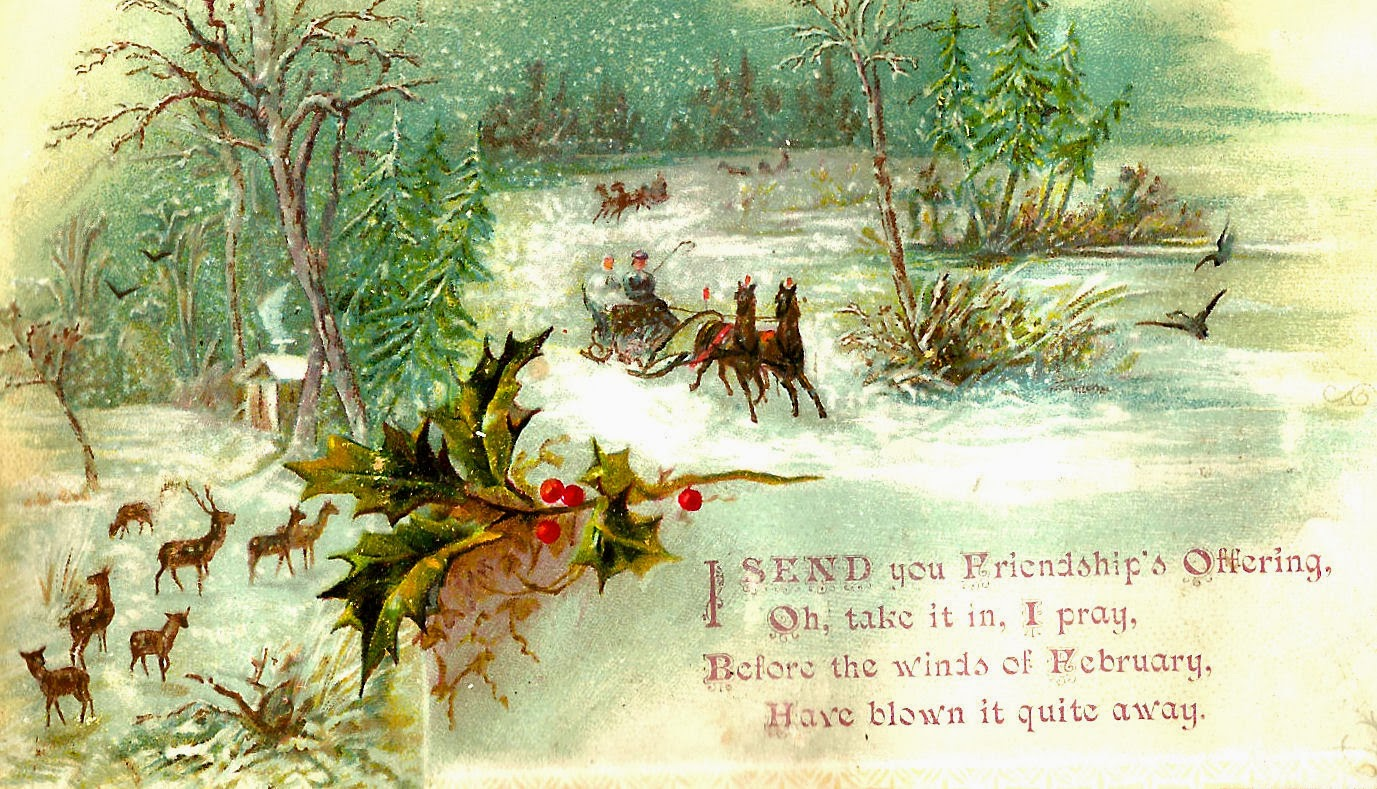 free victorian christmas clipart - photo #38