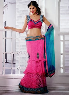 Fish Lehenga for Girls
