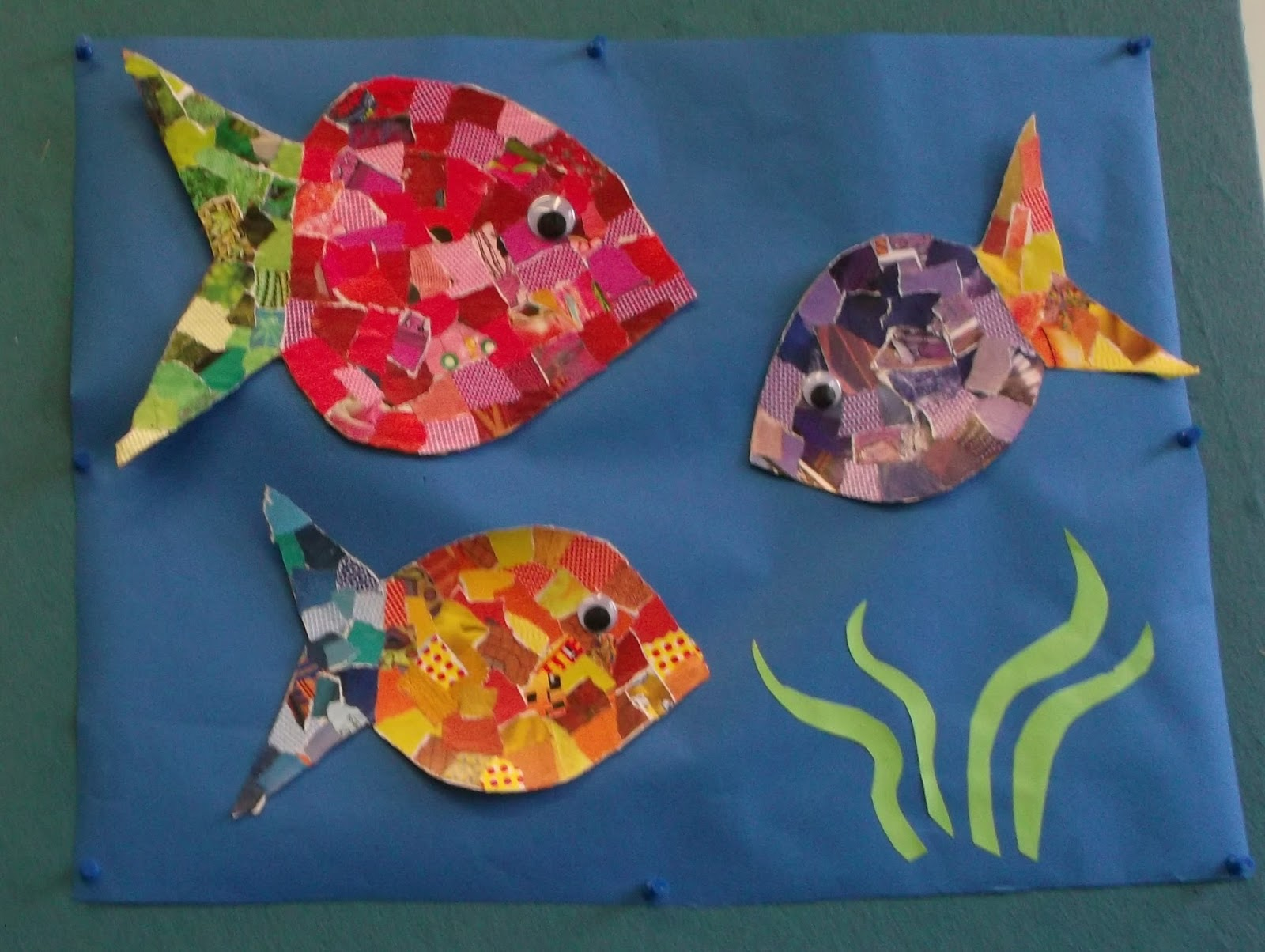 Arts And Crafts Ideas For Kids With Paper Part - 41: Simple And Easy Paper Collages For Kids