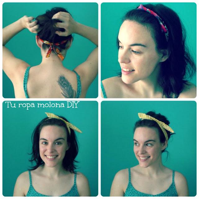 DIY: cintas para el pelo